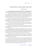 Truyền thông và phát triển nông thôn - Mai Quỳnh Nam