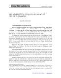 Một số yếu tố tác động của tệ nạn xã hội đến trẻ đường phố - Nguyễn Văn Đoàn