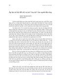Áp lực xã hội đối với vai trò trụ cột của người đàn ông