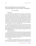 Thực trạng đời sống của cán bộ nữ thuộc Trung tâm Khoa học xã hội và Nhân văn Quốc gia - Ngô Minh Phương