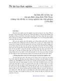 Sự biến đổi và liên tục của gia đình nông thôn Việt Nam: Những vấn đề đặt ra trong nghiên cứu thử nghiệm ở Yên Bái - Vũ Tuấn Huy