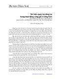 Tìm hiểu quan hệ dòng họ trong hoạt động cúng giỗ ở nông thôn: Qua khảo sát việc thực thao lế giỗ tạo tại làng Đại Kim, xã Đồng Tiến, huyện Phổ Yên, tỉnh Thái Nguyên - Đinh Thị Phương Thảo