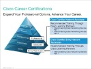 Lesson Cisco Career Certifications