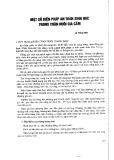 Một số biện pháp an toàn sinh học trong chăn nuôi gia cầm - Lê Hồng Mận