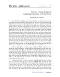 Vài nét về quá độ dân số và chương trình dân số ở Việt Nam - Trương Xuân Trường