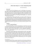 Công nhân nhập cư và việc tìm kiếm bạn đời - Bùi Thị Thanh Hà