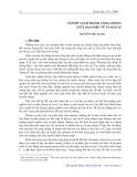 Vấn đề cạnh tranh công chúng giữa báo điện tử và báo in - Nguyễn Thu Sang