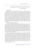 Thái độ ủng hộ thể chế của người dân Việt Nam - Phạm Thành Nghị