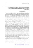 Xã hội học về cơ cấu xã hội và phân tầng xã hội, một chặng đường 20 năm nghiên cứu, phát triển và ứng dụng - Nguyễn Đình Tấn