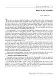 Kinh tế học gia đình - Đào Thế Tuấn