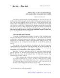Nhận thức về nguồn vốn xã hội, sức mạnh tiềm tàng cho phát triển - Khúc Thị Thanh Vân