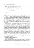 Những vấn đề về kiến thức, tâm thế và vai trò của hệ thống truyền thông đại chúng trong công cuộc vận động kế hoạch hóa gia đình - Vũ Tuấn Huy
