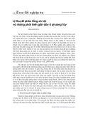 Lý thuyết phân tầng xã hội và những phát triển gần đây ở phương Tây - Mai Huy Bích