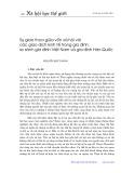 Sự giao thoa giữa vốn xã hội với các giao dịch kinh tế trong gia đình: So sánh gia đình Việt Nam và gia đình Hàn Quốc - Nguyễn Qúy Thanh