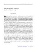 Đồng bằng sông Hồng: Sự phát triển dân số và vấn đề môi trường - Phạm Bích San