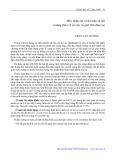 Mấy nhận xét về dư luận xã hội ở nông thôn về số con và giới tính đứa con - Trần Lan Hương