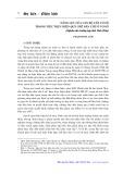 Năng lực của cán bộ cấp cơ sở trong việc thực hiện quy chế dân chủ ở cơ sở: Nghiên cứu trường hợp tỉnh Vĩnh Phúc - Phạm Minh Anh