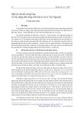 Một số vấn đề xã hội học về xây dựng đời sống văn hoá cơ sở ở Tây Nguyên - Trương Xuân Trường