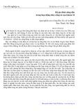 Hộ gia đình nông dân trong hoạt động thủy nông từ sau khoán 10: Qua nghiên cứu ở làng Đào Xá, xã An Bình, An Thanh, Hải Hưng - Mai Văn Hai