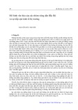 Mô hình văn hóa của các nhóm nông dân đồng bằng Bắc Bộ và sự tiếp cận kinh tế thị trường - Nguyễn Đức Truyến