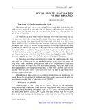 Một số vấn đề về tham gia xã hội và phản biện xã hội - Trịnh Duy Luân