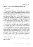 Nhận xét về tình trạng trẻ em lang thang ở Hà Nội - Trần Văn Thái