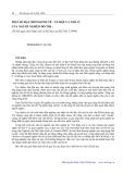 Một số đặc điểm kinh tế, xã hội và nhà ở của người nghèo đô thị tại Hà Nội: Từ kết quả cuộc khảo sát xã hội học tại Hà Nội 2/1994 - Trịnh Duy Luân