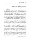 Cưỡng ép tình dục trong hôn nhân - Hoàng Bá Thịnh