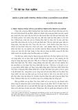 Khía cạnh giới trong phân công lao động gia đình - Nguyễn Hữu Minh