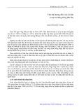 Thái độ hướng đến việc di dân ở một xã đồng bằng Bắc Bộ - Nguyễn Đức Vinh