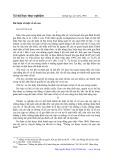 Dư luận xã hội về con số - Mai Quỳnh Nam