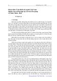 Quan niệm về gia đình của người Việt Nam: Nghiên cứu trường hợp tại Yên Bái, Tiền Giang và Thừa Thiên Huế - Vũ Mạnh Lợi