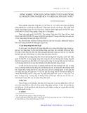 Nông nghiệp, nông dân, nông thôn ở Việt Nam trong sự nghiệp công nghiệp hoá và hiện đại hoá đất nước - Nguyễn Đăng Khoa