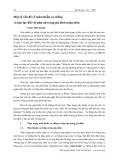 Một số vấn đề về mâu thuẫn vợ chồng và bạo lực đối với phụ nữ trong gia đình nông thôn - Trịnh Thái Quang