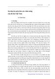 Sự chuyên môn hóa các chức năng của đô thị Việt Nam - Lê Thanh Sang