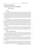 Thu nhập của hộ gia đình và các đặc trưng di cư của con cái từ nông thôn - Nguyễn Thanh Liêm