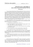 Mẫu hình việc làm và nghề nghiệp của cặp vợ chồng trong gia đình nông thôn Việt Nam - Đỗ Thiên Kính