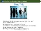 Bài giảng Chương 1: Bản chất của Marketing
