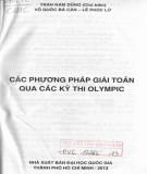 Ebook Các phương pháp giải toán qua các kỳ thi Olympic: Phần 1