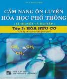 Cẩm nang hướng dẫn ôn luyện Hóa học phổ thông (Tập 3: Hóa hữu cơ): Phần 1