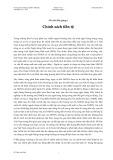 Ghi chú bài giảng 6: Chính sách tiền tệ - Đỗ Thiên Anh Tuấn