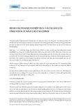 Bài giảng Định giá doanh nghiệp dựa vào ngân lưu: Tính toán từ báo cáo tài chính - Nguyễn Xuân Thành