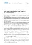 Bài giảng Định giá doanh nghiệp dựa vào ngân lưu: một ví dụ đơn giản - Nguyễn Xuân Thành