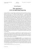 Ghi chú bài giảng 5: Tiền, ngân hàng và vai trò của ngân hàng trung ương - Đỗ Thiên Anh Tuấn