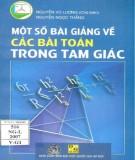 Ebook Một số bài giảng về các bài toán trong tam giác: Phần 2
