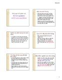 Bài giảng Tổng quan về nghiên cứu định tính (qualitative) và định lượng (quantitative)