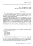 Một số vấn đề nghiên cứu Hà Nội và những nhận xét sơ khởi qua nghiên cứu giai đoạn 1 - Phạm Bích San