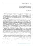 Kinh tế hộ gia đình nông dân và sự thay đổi xã hội ở Việt Nam - Đào Thế Tuấn