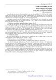 Vấn đề kế hoạch hóa gia đình ở một xí nghiệp công nghiệp trong điều kiện hoạch toán kinh tế - Nguyễn Anh Sảo