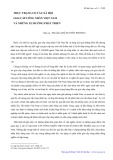 Thực trạng cơ cấu xã hội giai cấp công nhân Việt Nam và những xu hướng phát triển